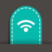 Connection web icon — Vecteur