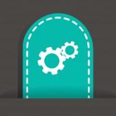 Configure Web icon — Vector de stock