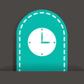 Watch Web icon. — Stock Vector