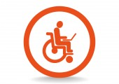 Disabled, Web icon. — Stock Vector