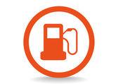 Autorefuelling web icon — Vector de stock