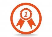 Medaile za první místo — Stock vektor