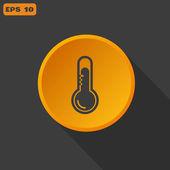 Temperature web icon — Stock Vector