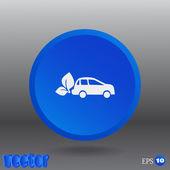 Icone web car — Vettoriale Stock