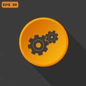 Configure Web icon — Stock Vector