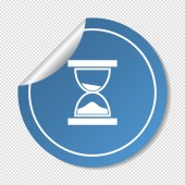 Hourglass web icon — Stock Vector