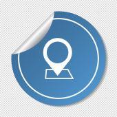Pointer web icon — Stock Vector