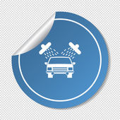 Car web icon — Stockvektor