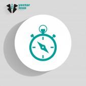 Stopwatch web icon — Stockvector