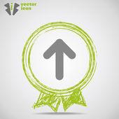 Ikona strzałki sieci web — Wektor stockowy