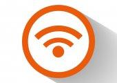 Icona web wi-fi — Vettoriale Stock