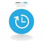 Symbole de veille web — Vecteur