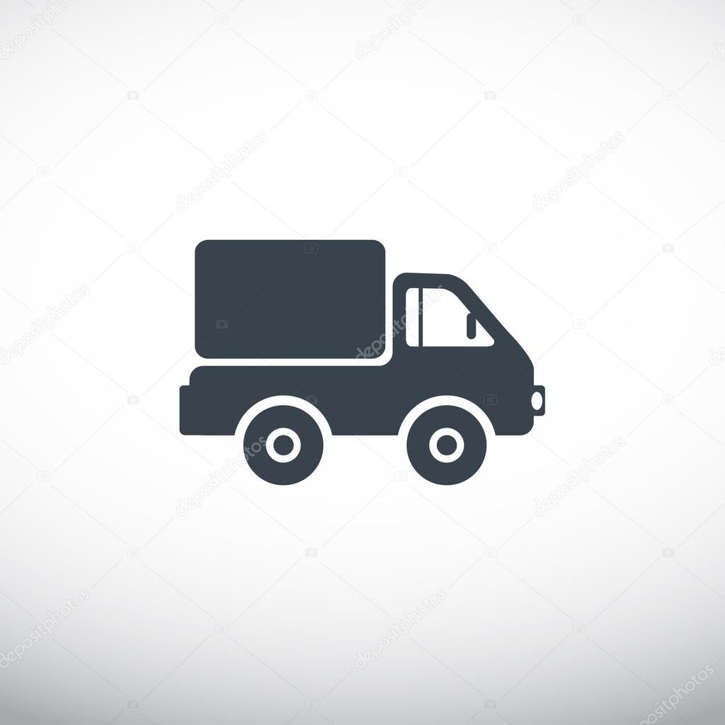 delivery truck icon vector - photo #9