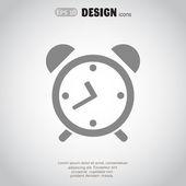 Alarm clock Web icon — Stock Vector