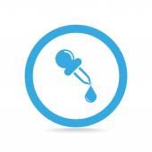 移液器 web 图标 — 图库矢量图片