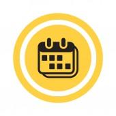 Simple organaizer web icon — Stock Vector