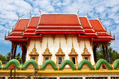 Wat  Salakphet , the temple in Thailand — Foto de Stock