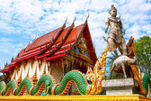 Wat  Salakphet - the temple in Thailand, Ko Chang island — Stock Photo