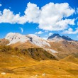 Постер, плакат: Beautiful clouds in the Caucasus mountains