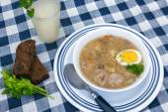 Zurek soup — Stock Photo
