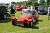 BROMLEY, LONDON UK - JUNE 07 : BROMLEY PAGEANT of MOTORING. The biggest one-day classic car show in the world! June 07 2015 in Bromley, London, UK. — Stock Photo
