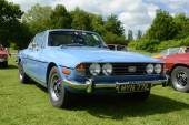 BROMLEY LONDON UK  JUNE 07  BROMLEY PAGEANT of MOTORING The biggest one day classic car show in the world June 07 2015 in Bromley London UK — Foto de Stock