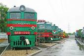 Railway Museum in Samara, Russia — Stock Photo