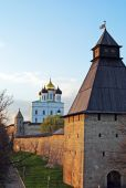 Pskov fortress, Russia — Stock Photo