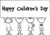 Happy children's day — Stock Photo