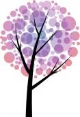 Vector drawing beautiful tree — Stock Photo