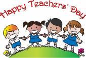 Día feliz maestros — Foto de Stock