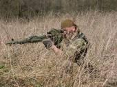 Sniper's vestments — Stock Photo