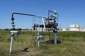 Well for maintenance of reservoir pressure — Stock Photo