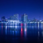 New Orleans city view in USA — Stock Photo