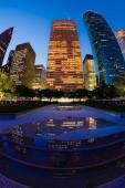 Skyscrapers in Houston — Stock Photo