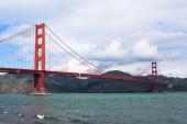 Χρυσή γέφυρα πυλών στο Σαν Φρανσίσκο — Φωτογραφία Αρχείου