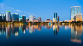 View of Orlando city in USA — Stock Photo