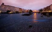 Old square in Copenhagen — Stock Photo