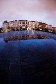 Old square in Copenhagen — Stock Photo