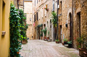Old street in the Italian city — Stock Photo