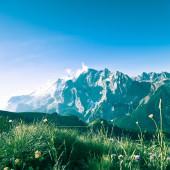 Blick auf die Berge Landschaft — Stockfoto