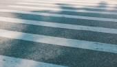 Crosswalk closeup — Stock Photo