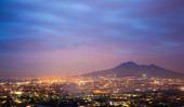 View of Napoli city in Italy — Stock Photo