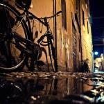 Old street in the Italian city at night — Stock Photo #70170099
