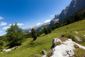 Mountain landscape view — Stock Photo