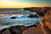Sea rock coast — Stock Photo