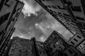 The sky of Saint Petersburgh — Stock Photo