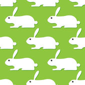 Background with rabbits — Stock Vector
