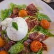 Burrata salad — Stock Photo #65509275