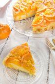 Mandarinkové dort — Stock fotografie